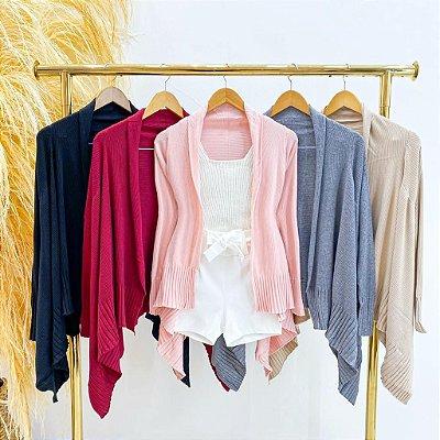 Kimono Tricot Modal (Diversas Cores)