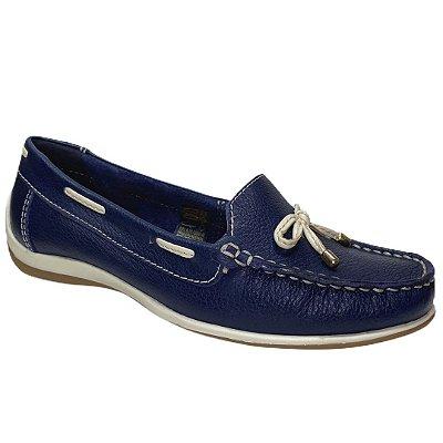 Sapato Feminino Bottero Mocassim Couro - 306101-20 - Marinho