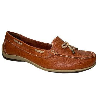 Sapato Feminino Bottero Mocassim Couro - 306101-48 - Terracota