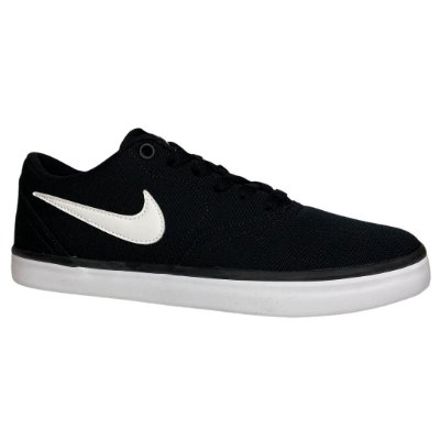 Tênis Masculino Nike Sb Check Solar Cnvs - 843896-001 - Preto