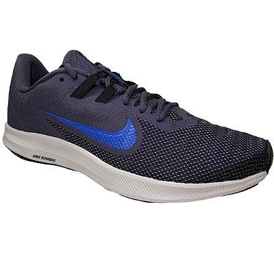 Tênis Masculino Nike Downshifter 9 - AQ7481-011 - Azul