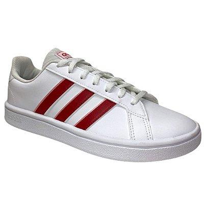 Tênis Adidas Feminino Grand Court Base - Branco - EG4031