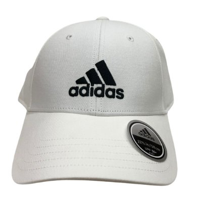 Boné Masculino Adidas Bball Cap Cot - FK0890 - Branco