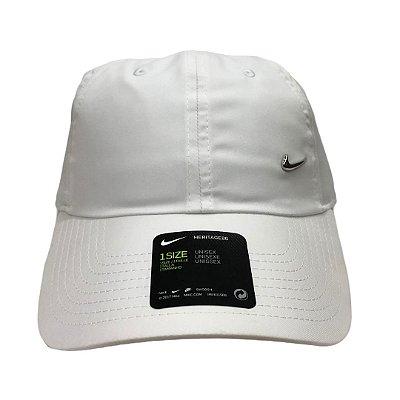 Boné Masculino Nike U Nk H86 Cap Metal Swoosh - 943092-100 - Branco