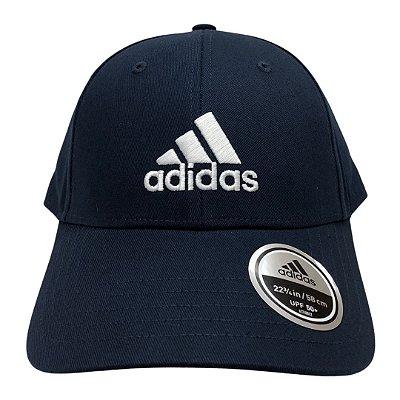 Boné Masculino Adidas Bball Cap Cot - FQ5270 - Azul