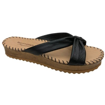 Tamanco Feminino Bottero Couro Summer Burnish Botgarni Tropical - 322501-4 - Preto