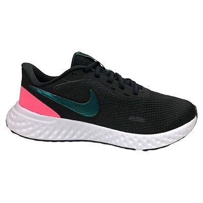 Tênis Feminino Nike Wmns Revolution 5 - BQ3207-011 - Preto