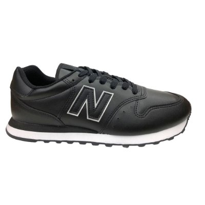 Tênis Masculino New Balance Casual  Lifestyle - GM500BY1 - Preto