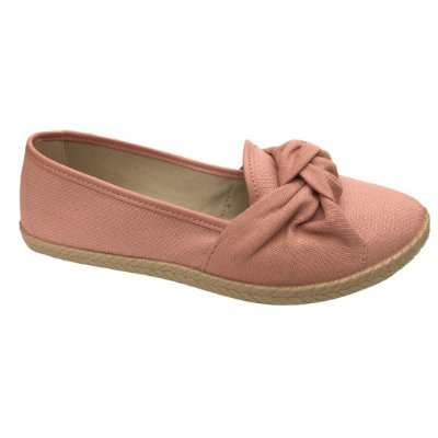 Sapatilha Feminina Moleca Lona Sider - 5287.265 - Light Blush