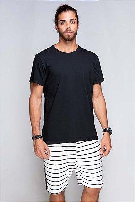 Camiseta Básica Azor Premium Preta