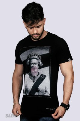 Camiseta Slim Fit Azor Elizabeth