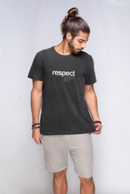 Camiseta Respect Nature Estonada