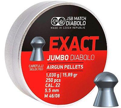 Chumbo JSB EXACT JUMBO DIABOLÔ 5.5 C/250