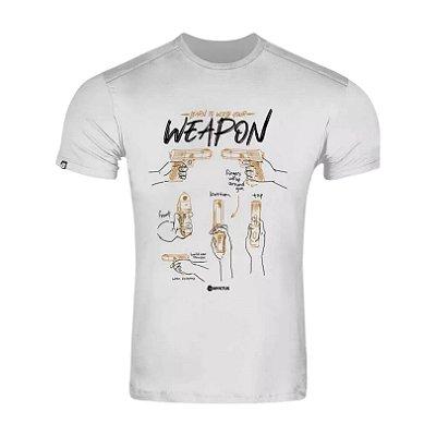 Camisa Invictus Concept Hold On branca