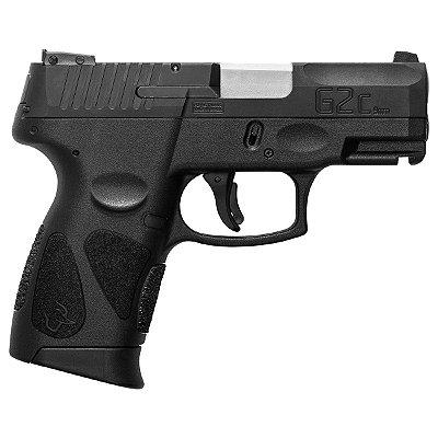 Pistola Taurus 9mm G2C 12+1 tiros oxi preta