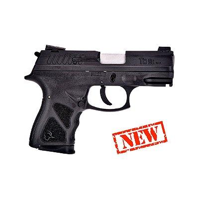Pistola Taurus 9mm TH9C  13+1 tiros preta