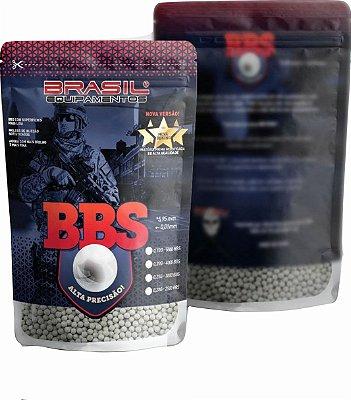 BBS munição BRASIL EQUIP  6mm 25gr c/3000 branca