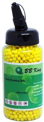 BBS munição BB KING 6mm 12gr c/2000 amarela