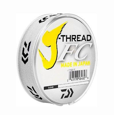 Linha Fluocarbon J-THREAD leander 14lbs 100mts