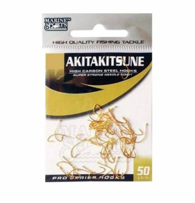 Anzol marine akitakitsune gold ctl c/50