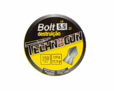 Chumbo Technogun Bolt 5.5 c/125
