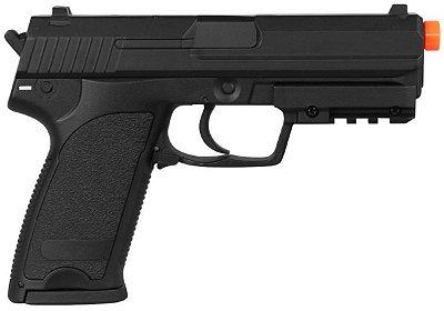 Pistola arirsoft CM125 USP automática 6mm FUUL METAL CYMA