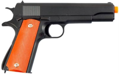 Pistola airsoft SPRING GALAX FUL METAL G.13+ 6MM c/coldre