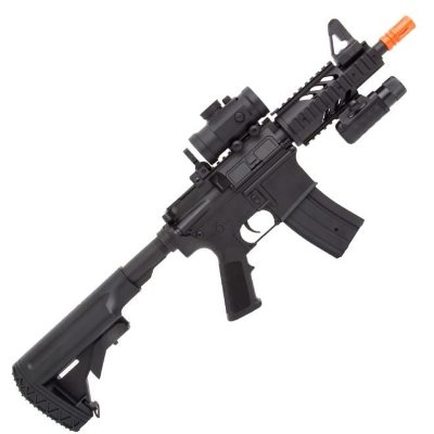 Rifle airsoft M4 M805 -A2 elétrico full metal 6MM CYMA
