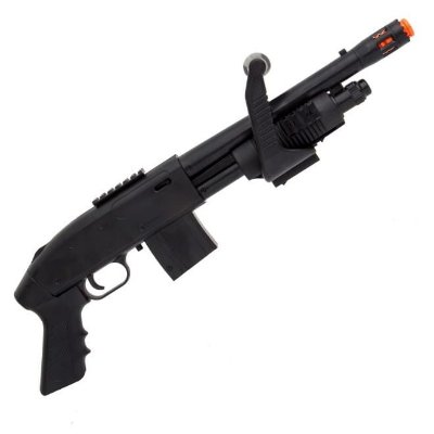 Shotgum rifle airsoft  6mm SPRING MOSSEBERG 590 chainsaw