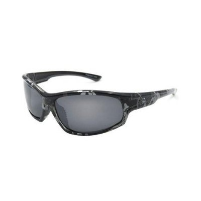 óculos polarizado pro-tsuri skull gray mirror
