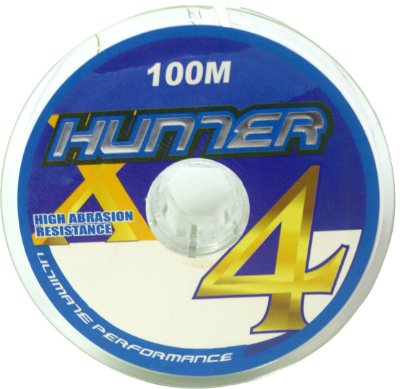 linha hunter 4X ultimate performance multifilamento 100mts