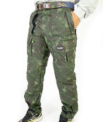 calça bermuda MTK amazon camuflada verde
