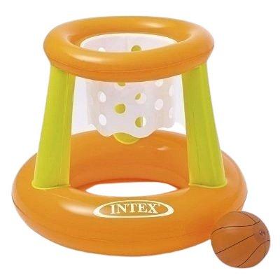 boia cesta basquete inflável intex