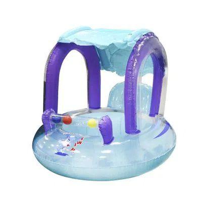 boia inflável baby seat 67x67 c/sombreiro
