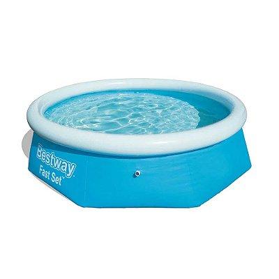 piscina inflável 2.300lt fast set
