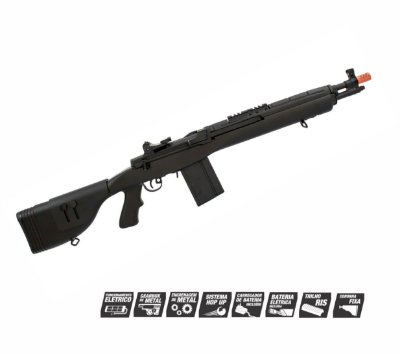 Airsoft Rifle AEG CYMA M14 DMR 6mm CM032FBK Full Metal