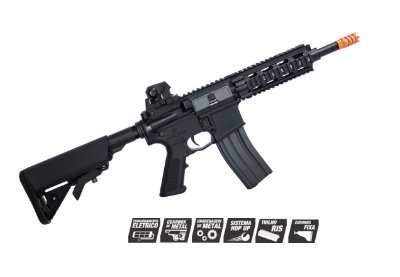 AIRSOFT RIFLE G&G GR16 CQW BLOWBACK