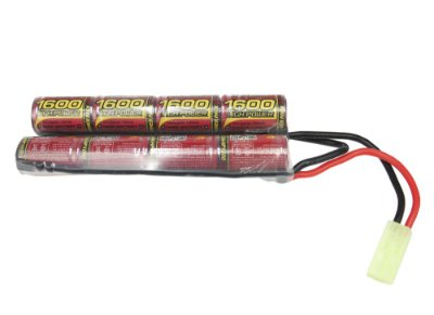 AIRSOFT BATERIA 9,6V – 1600 MAH (MLT) – MODELO BUTTERFLY