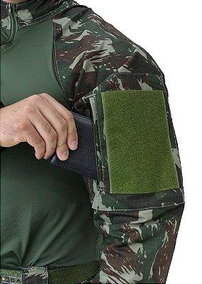 Blusa Tática Combat Shirt HRT Camuflado