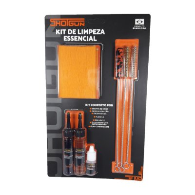 Kit de limpeza Essencial Cal 38 / 9MM  KE - 38/9 SHOTGUN