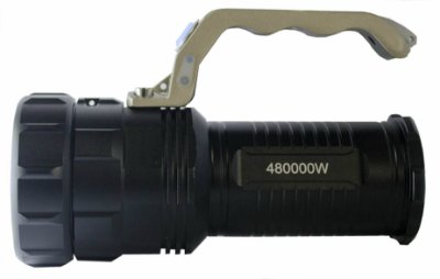 Lanterna Recaregáel DR-116  Tática caça 480.000W c/zoom