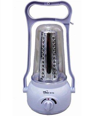 Lampião 60 Led Super Eco Power recarregável