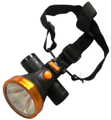 Lanterna de Cabeça Recarregável