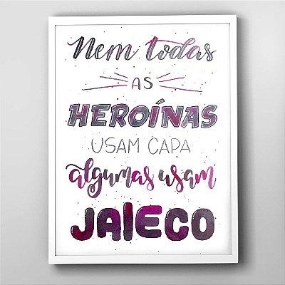 """Quadro """"Super Heroínas"""""""