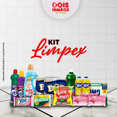 Kit de limpeza LIMPEX