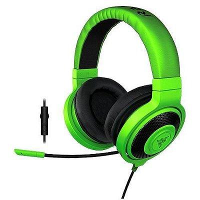 Headset Razer Kraken Pro 2015 Verde com Controlador de Volume