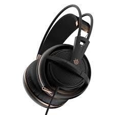 Headset Steelseries Siberia 200 Preto Dourado