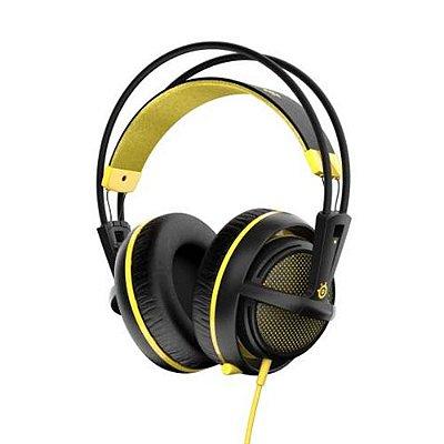 Headset Steelseries Siberia 200 Preto Amarelo