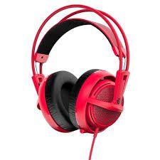 Headset Steelseries Siberia 200 Vermelho