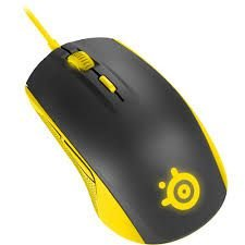 Mouse Steelseries Rival 100 - Amarelo